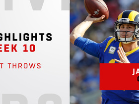 Jared Goff's best throws vs. Seahawks | Week 10