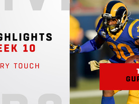 Every Todd Gurley touch from his 150-yard game | Week 10