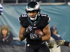 Golden Tate catches first pass as Eagle