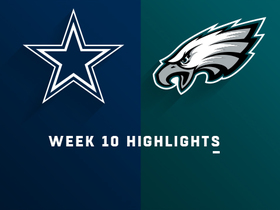 Cowboys vs. Eagles highlights | Week 10