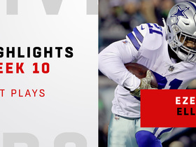 Zeke's top plays from 187-yard game vs. Philly | Week 10