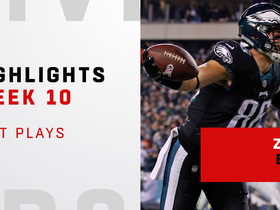 Zach Ertz highlights vs. Cowboys | Week 10