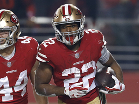 Breida hauls in 11-yard touchdown catch