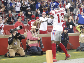 Second time's the charm for Eli and OBJ on TD throw