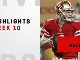 Highlights from Nick Mullens' second prime-time game | Week 10