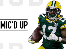 Mic'd Up: 'Are you kidding me?' Rodgers in awe after Adams' TD | Week 10