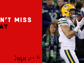 Can't-Miss Play: Rodgers launches 54-yard TD to Tonyan