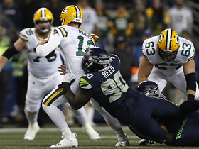 Reed, Carlito combine for sack of Rodgers on third down