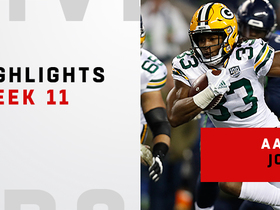 Every touch from Aaron Jones' 103-yard night | Week 11