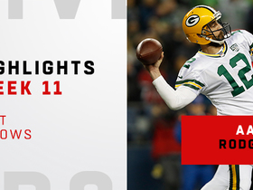 Rodgers' top throws from 332-yard night | Week 11