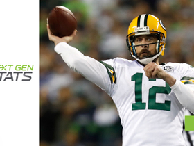 Next Gen Stats: Aaron Rodgers is best QB outside the pocket