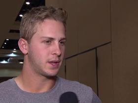 Goff reacts to Halle Berry's tweet about Rams' audible