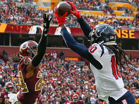 DeAndre Hopkins snatches dime on leaping TD