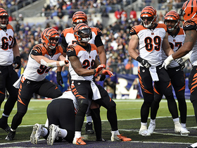 Mixon, Bengals have piano recital after game-tying TD