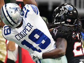 Amari Cooper beats Desmond Trufant for big catch