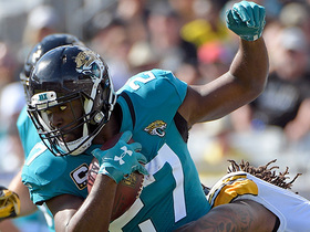 Fournette turns on turbo 26-yard catch-and-run