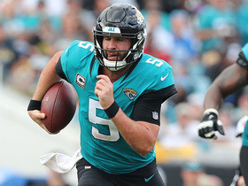 Bortles SPINS out of pressure on deep first-down rush