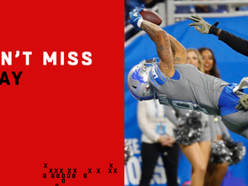 Can't-Miss Play: It's Golladay season! WR makes absurd TD catch