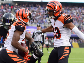 Tyler Boyd enters HUGE front flip for epic extension