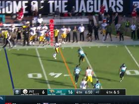 Ramsey's hit jars ball loose from Conner on fourth down