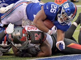 Saquon punches in second rushing TD late in game