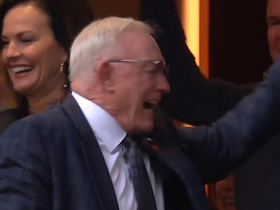 Jerry Jones is FIRED UP after game-winning FG