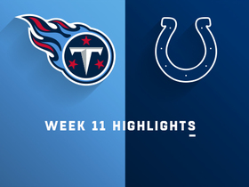 Titans vs. Colts highlights | Week 11
