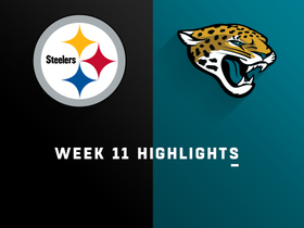 Steelers vs. Jaguars highlights | Week 11