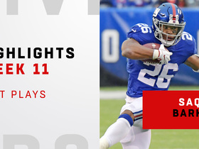 Saquon's top plays from 3-TD day vs. Bucs | Week 11
