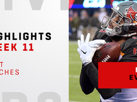 Evans' best catches from 120-yard game | Week 11