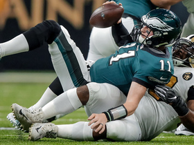 Rankins engulfs Wentz for big third-down sack