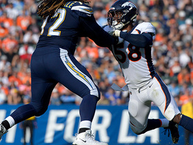 Von takes down Rivers for 100th career sack