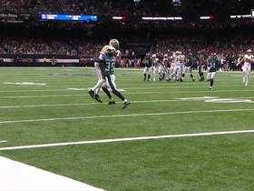 Tre'Quan Smith secures contested catch for 21 yards