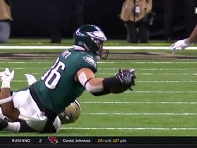 Wentz navigates congested pocket to find Ertz on third down