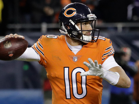 Trubisky zips pass to Bellamy for two-point conversion