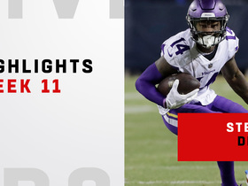 Stefon Diggs highlights on 'SNF' | Week 11
