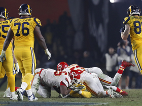 Chris Jones closes in on Goff for second-down sack