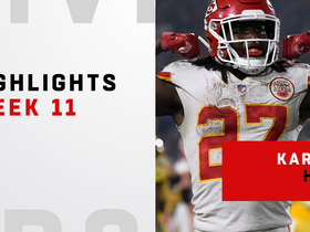 Best plays from Kareem Hunt's big night | Week 11