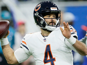 Chase Daniel gets six yards on first pass as a Bear