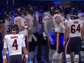 Chase Daniel runs out of tunnel early pregame