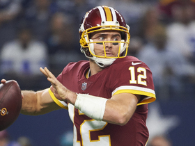 Colt McCoy makes Rodgers-esque pass to Reed for 20 yards