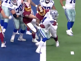 Daron Payne's sack nearly gives Redskins a safety