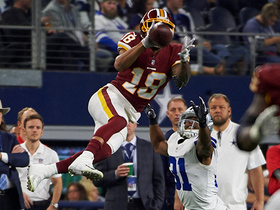 Doctson SOARS through air for acrobatic 17-yard catch