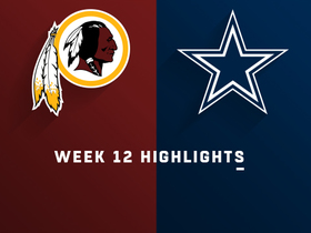 Redskins vs. Cowboys highlights | Week 12