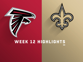 Falcons vs. Saints highlights | Week 12