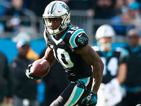 Curtis Samuel shows major speed as he takes reverse for 25 yards