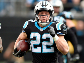 McCaffrey delivers head fake to break loose for 38 yards