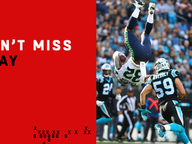 Can't-Miss Play: Carson keeps running after getting FLIPPED mid-air