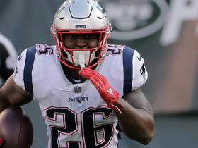Sony Michel turns on the jets for 33 yard run