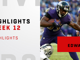 Highlights from Gus Edwards' second straight 100-yard game | Week 12
